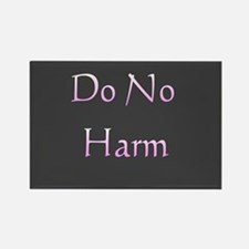 """Do No Harm"" Rectangle Magnet"