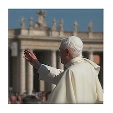 Pope Benedict Tile Coaster