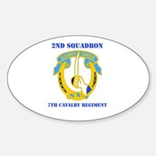 DUI - 2nd Sqdrn - 7th Cavalry Regt with Text Stick