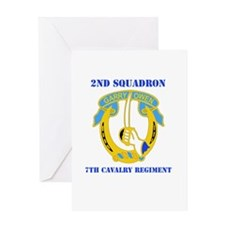 DUI - 2nd Sqdrn - 7th Cavalry Regt with Text Greet