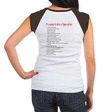 """""""Date a Figure Skater"""" Women's Cap Sleeve T-Shirt"""