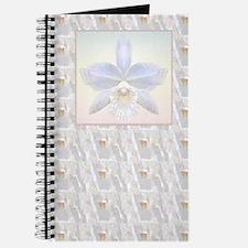 Brides White Orchid print Journal