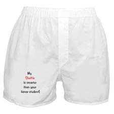 My Sheltie is smarter...<br> Boxer Shorts