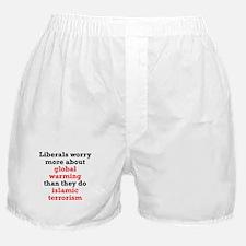 Global Warming or Terrorism Boxer Shorts