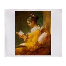 Jean Honore Fragonard Throw Blanket