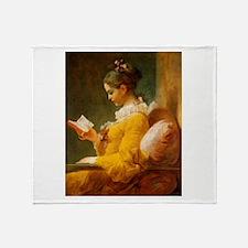 Jean Honore Fragonard Throw Blanket