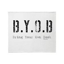 B.Y.O.B. Throw Blanket