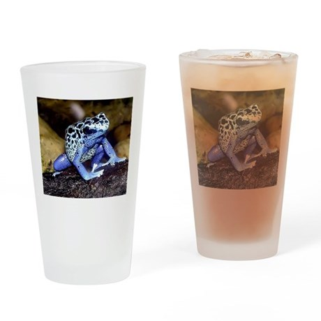 Rainforest Frog Drinking Glass