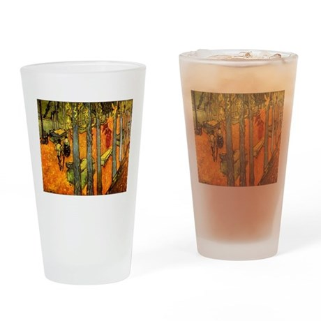 Alyscamps by Vincent Van Gogh Drinking Glass