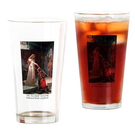 """Edmund Blair Leighton's """"The Drinking Glass"""
