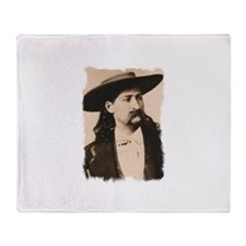 Wild Bill Hickok Throw Blanket