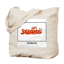 Solidarity Solidarnosc Flag Tote Bag