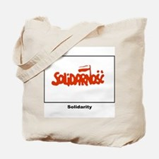 Solidarity Solidarnosc Flag Tote Bag