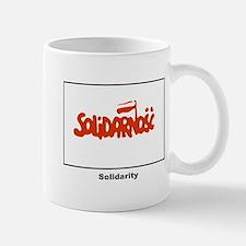 Solidarity Solidarnosc Flag Mug