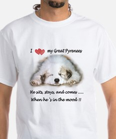 Great Pyrenees Mood Shirt