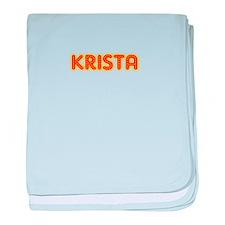 Krista in Movie Lights baby blanket
