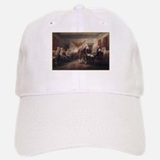 Signing of the Declaration of Baseball Baseball Cap