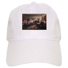 Signing of the Declaration of Baseball Cap