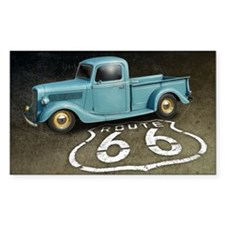 Route 66 Farm Truck Decal