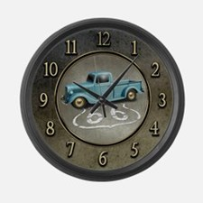 Route 66 Farm Truck Large Wall Clock