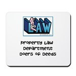 Property lawyer's Mousepad