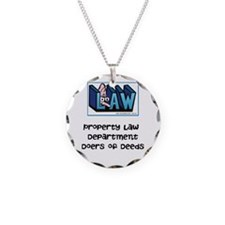Property lawyer's Necklace