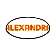 Alexandra in Movie Lights Patches
