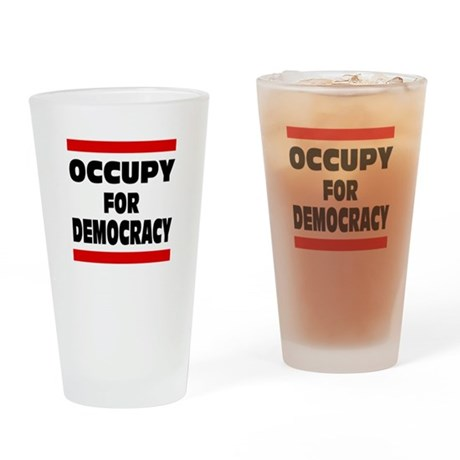 Occupy For... Drinking Glass