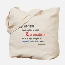 Fascism defined Tote Bag
