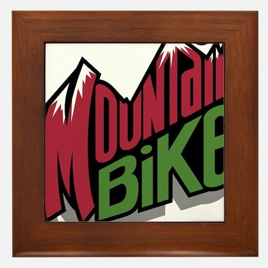 Mountain Bike 2 Framed Tile