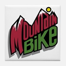 Mountain Bike 2 Tile Coaster