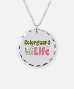 Colorguard is Life Necklace