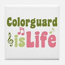Colorguard is Life Tile Coaster