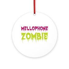 Mellophone Zombie Ornament (Round)
