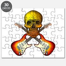 skull & guitar 2 Puzzle