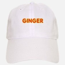 Ginger in Movie Lights Baseball Baseball Cap
