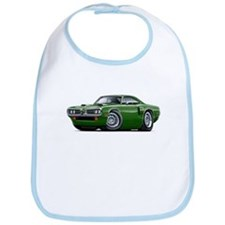 1970 Coronet Green Car Bib