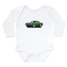 1970 Coronet Green Car Long Sleeve Infant Bodysuit
