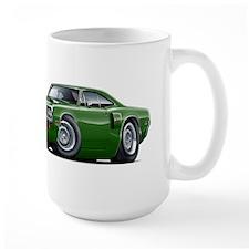 1970 Coronet Green Car Mug