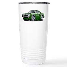 1970 Coronet Green Car Thermos Mug