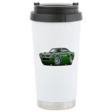 1970 Coronet Green Car Travel Mug