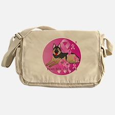 German Shepherd Messenger Bag