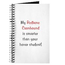 My Redbone Coonhound is smarter...<br> Journal