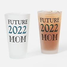 Future Mom 2016 Drinking Glass