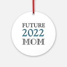Future Mom 2016 Round Ornament