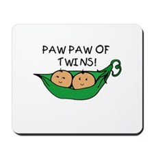 Paw Paw of Twins Mousepad