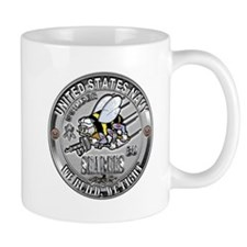 USN Navy Seabees Can Do Build Mug