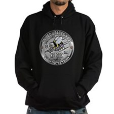 USN Navy Seabees Can Do Build Hoodie