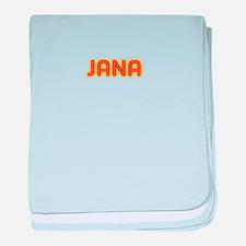 Jana in Movie Lights baby blanket
