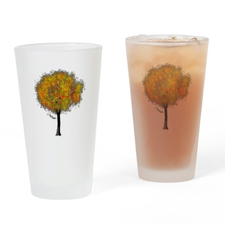 Autumn Color Drinking Glass